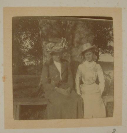 ON the right, The Hon. Mary Vere Agar-Robartes, Hon, Mrs Yarde Buller (1879-1946)