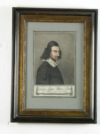 Self Portrait - Lorenzo Lippi (Florence 1606 - Florence 1665)