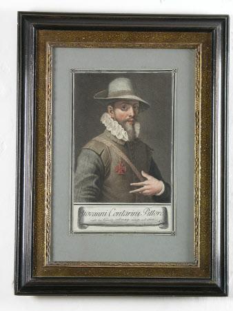 Self Portrait - Giovanni Contarini (Venice 1549 - Venice c.1604)