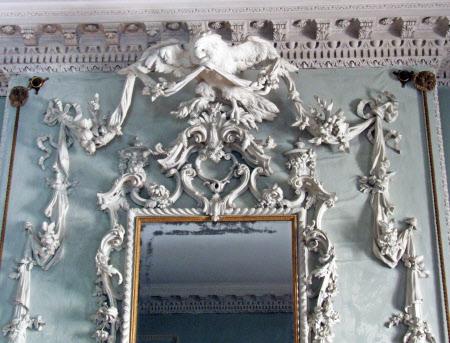 Rococo overmantle