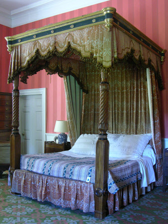 Lord Macaulay's bed.