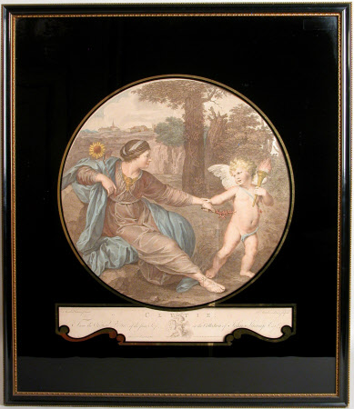 Clytie repulsing Cupid (after Annibale Carracci)
