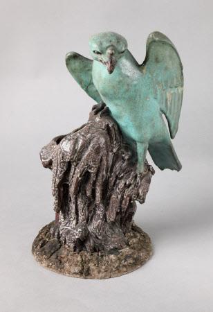 Hawk figurine