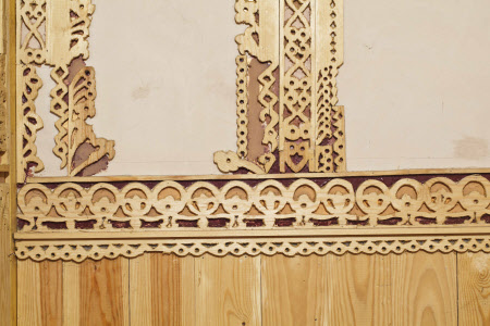 Fretwork section