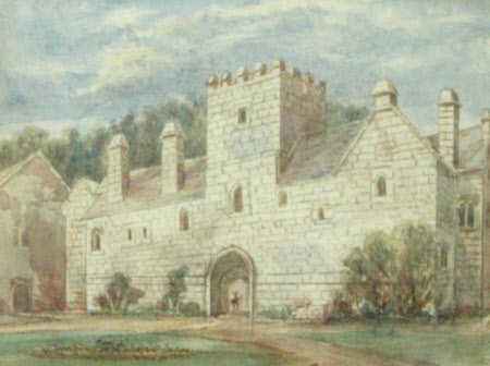 View of Cotehele, Cornwall from the South East
