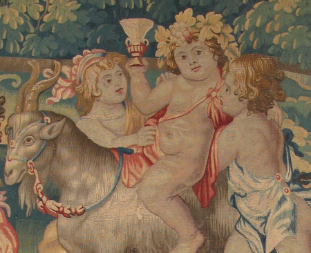 The Infant Bacchus Riding on a Goat