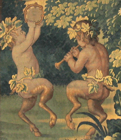 Boy Satyrs Dancing