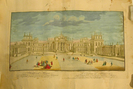 Blenheim Palace (after James Maurer)