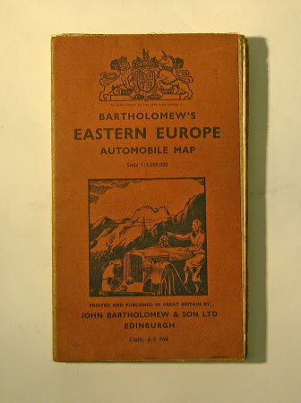 Automobile Map of Eastern Europe