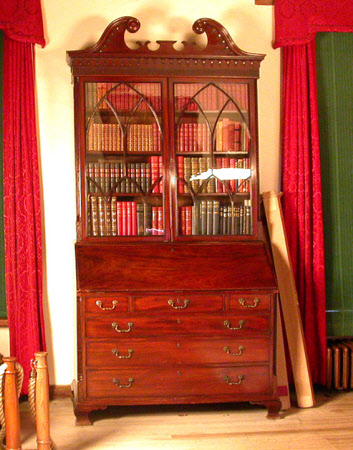 Lord Randolph Churchill's bureau-bookcase