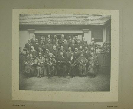 Group of Lord Mayors and other dignitaries - the Hon. Thomas Charles Reginald Agar-Robartes, 6th ...