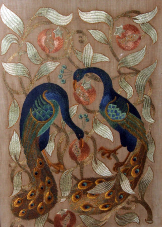 Embroidery panel