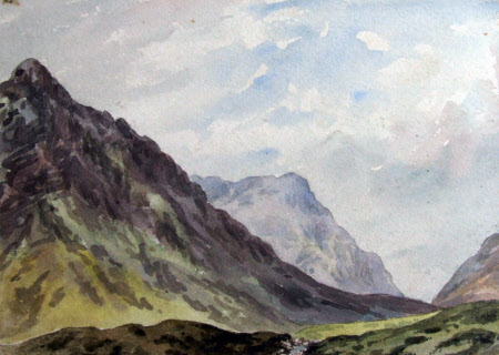 pass of glencoe from near king 39 s house national trust collections. Black Bedroom Furniture Sets. Home Design Ideas