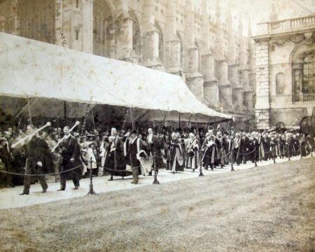 Degree Giving at Cambridge 1894