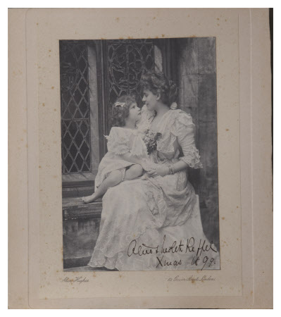 Alice Frederica Edmondstone, The Hon. Mrs George Keppel (1868-1947) and her daughter Violet Keppel, ...