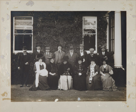 A group with King Edward VII (1841–1910) at Polesden Lacey