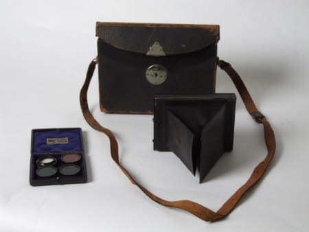 Photographic plate bag