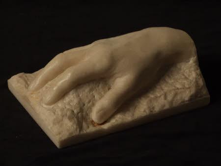 Hand and wrist of George Bernard Shaw (1856-1950)
