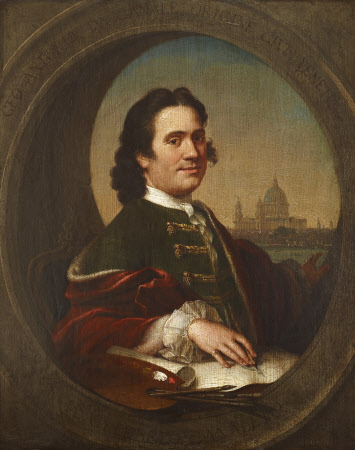 Supposed Self-portrait of Canaletto (Venice 1697 - Venice 1768)