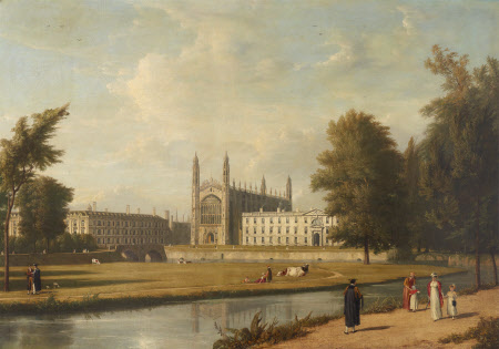 King's College and Clare College, Cambridge, from the River Cam