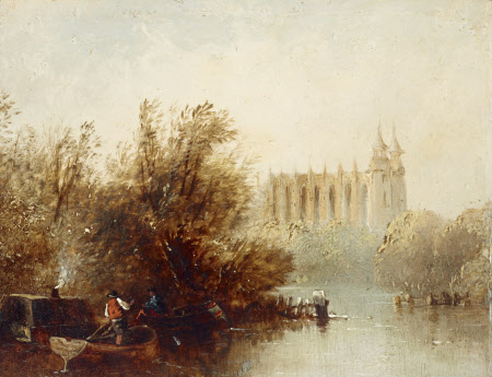 Eton Chapel from the River