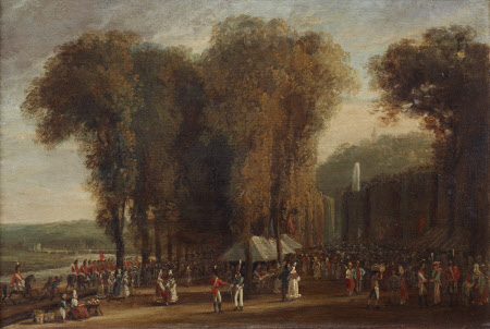 The Garden of St Cloud, Sunday, 10th September, 1815