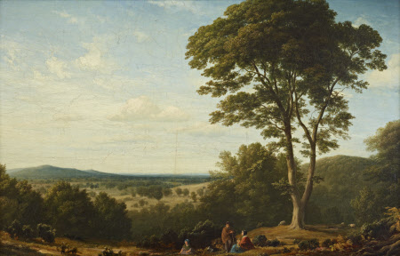 View of the Grounds at Ashridge, Hertfordshire