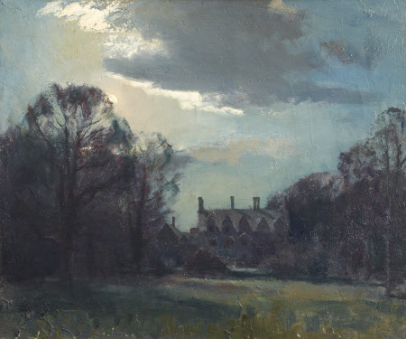 Anglesey Abbey by Moonlight, Autumn 1949