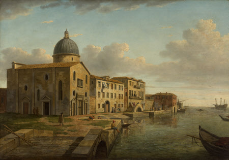 View of San Nicolò di Castello, Venice