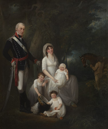 Lieutenant John Cave of the Bristol Troop of Gentlemen and Yeomanry Cavalry and his Family