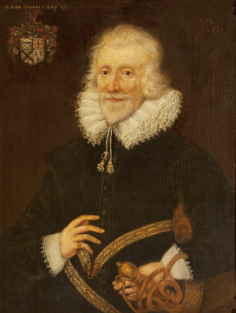 Sir Ralph Ellerker of Risby (b.1558/59) at the age of 73 (after British (English) School of 1632)