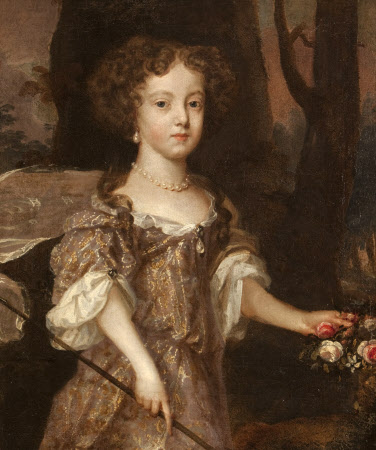Portrait of a Little Girl, called Lady Mary Russell