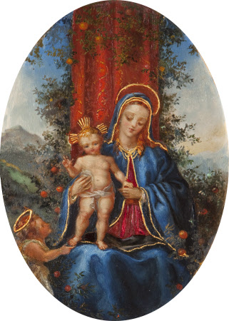 The Virgin and Child with the Infant John the Baptist