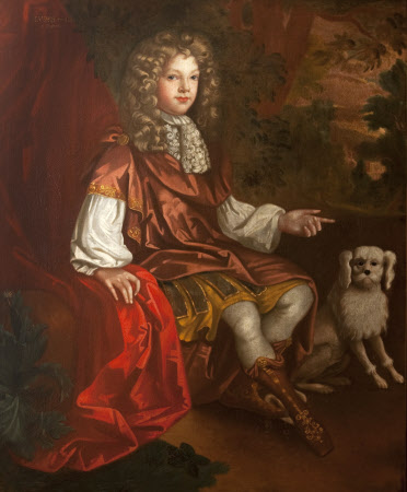 An Unknown Boy, reputedly, but not, Prince James Francis Edward Stuart ('James III') 'The Old ...