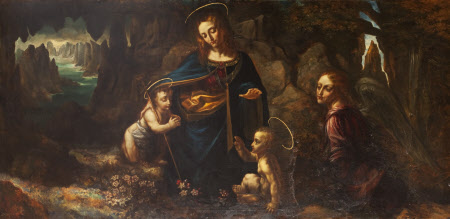The Madonna of the Rocks (after Leonardo)