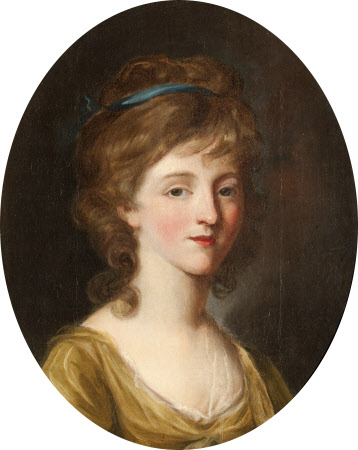 Mary Gambier, Mrs Samuel Pitchford Cornish (b.1753) as a Girl
