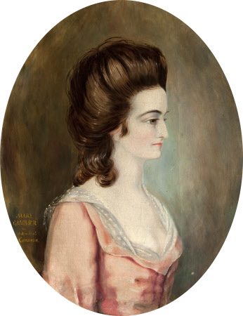 Mary Gambier, Mrs Samuel Pitchford Cornish (b.1753)