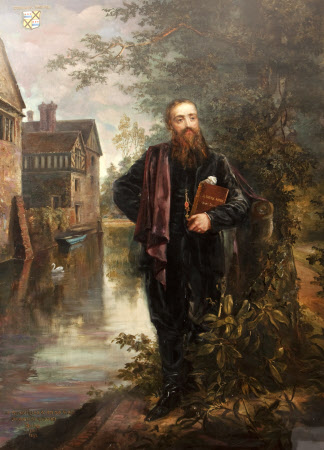 Edward Heneage Dering (1826-1892), 'The Philosopher's Morning Walk'