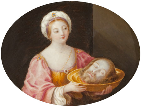 Salome with the Head of John the Baptist (after Reni)