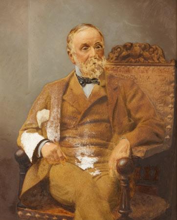 Captain Boydell Croxon (1819-1902) of Erway, Salop