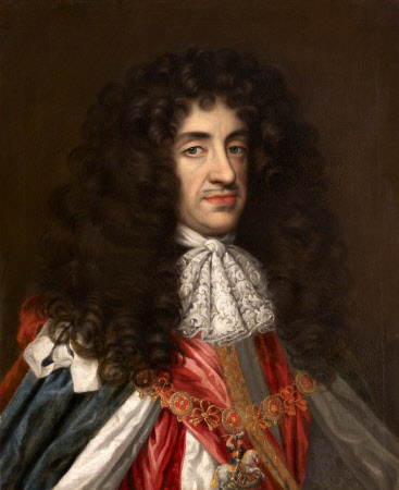 King Charles II (1630-1685), in Garter Robes