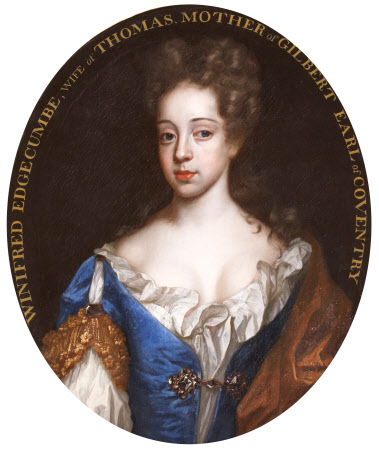 Inscribed Winifred Edgcumbe, Lady Coventry (d. 1694), but more probably Lady Anne Somerset, ...