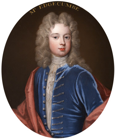 Inscribed Mr Edgcumbe, but Thomas Coventry, 3rd Earl of Coventry (1702 - 1711/12)