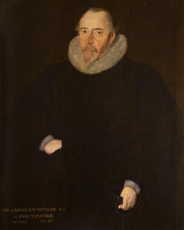 Sir Amyas Bampfylde, 1st Bt of Poltimore (1550 -1625)