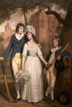William, Mary Ann, and John de la Pole as Children
