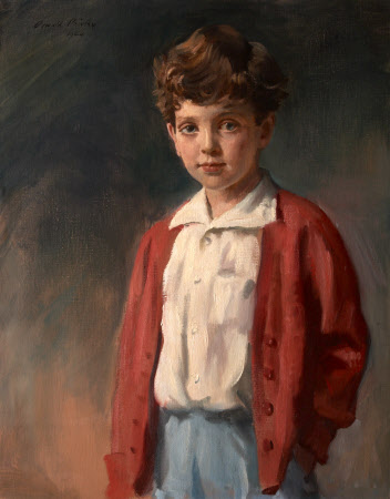 Sir Richard Carew Pole, 13th Bt (b.1938) as a Boy