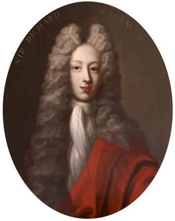 Sir Richard Carew, 4th Bt (1683 - 1703)