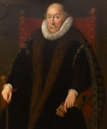 An Unknown Nobleman, possibly Henry Norreys (Norris), 1st Lord Norrey (c. 1525 - 1601)