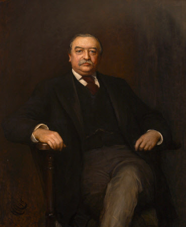 Walter Hayes Burns of North Mymms (1838 - 1897)