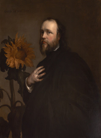 Sir Kenelm Digby (1603–1665) with a Sunflower